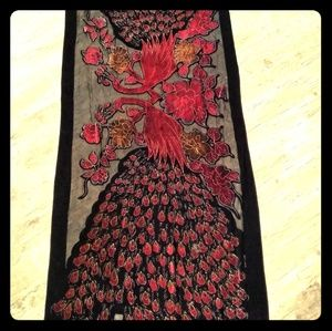 Accessories - Velvet Burnout Devore Shawl/Scarf